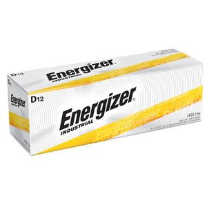 Energizer EN95 D Battery, Alkaline, 1.5V, 20,000 mAh