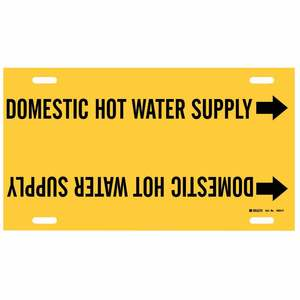 4053-F 4053-F DOMESTIC HOT WATER SUP/YEL