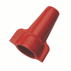 Ideal 30-452 Wire Connector, Winged Type, 18 - 8 AWG, Red