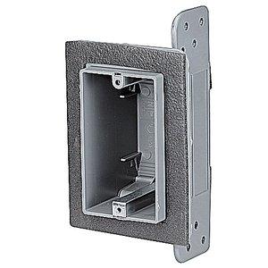 Thomas & Betts F-WSW One-Gang Airtight Device Box, Gray, Non-Metallic