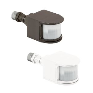 Hubbell - Lighting MS-WH Single Outdoor Occupancy Sensor, White, 180 Degree Coverage