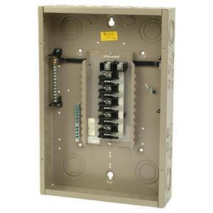 Eaton CH24L125C Load Center, Main Lug, 125A, 120/240V, 1P, 24/24, NEMA 1