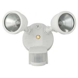 Hubbell - Lighting R2LHQW MOTION FLOOD KIT 2X75W