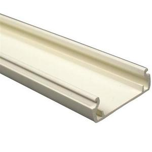 Wiremold NM2000B Plugmold Base, Ivory, 8' Length