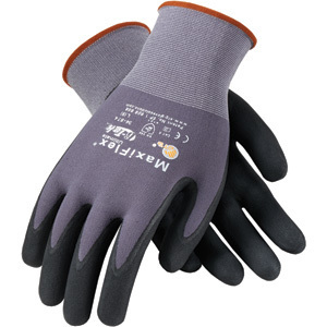 Protective Industrial Products 34-874/L Glove, Nylon, Nitrile Coated, Large