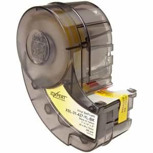 """XSL-31-427-YL-BK 1.5""""X1"""" S/L VINYL CART"""