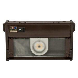 """CSL NCA-LED-8-BZ LED Undercabinet Light, 8"""", Bronze"""