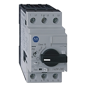 Allen-Bradley 140M-D8E-C32 Breaker, Motor Protection, 32A, D Frame, 3P, High Magnetic