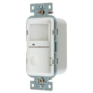 Hubbell-Wiring Kellems WS1000W OCC SENSOR,PIR,120V 500W,WH