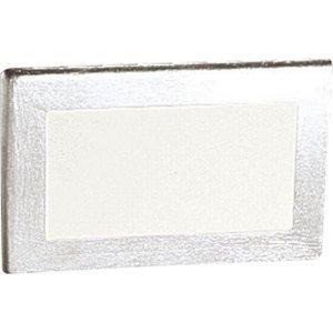 Progress Lighting P6818-16 1-75W A-19 RECSD STEP LT Satin Aluminum *** Discontinued ***