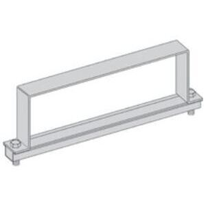 "Eaton B-Line 9A-06-9064-W/SS6 Heavy Duty Cover Clamp, 6"" Height, 6"" Tray Width, Aluminum"
