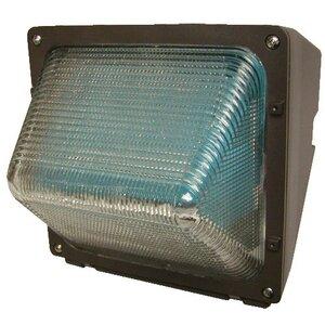 Hubbell - Lighting WGH-70H Wallpack, Pulse Start Metal Halide, 1 Light, 70W, 120-277V, Bronze