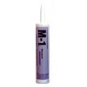 Chemlink F1270BL Black M-1 Polyether Adhesive Sealant - 10oz Cartridge