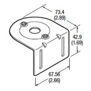 Allen-Bradley 60-1785 Mounting Bracket, for Series 5000, PhotoSwitch