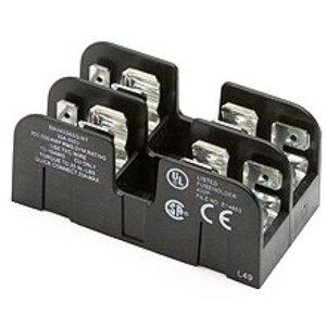 "Eaton/Bussmann Series BMA603ASQ Add-A-Pole Fuse Block, 3-Pole, 1/10-30A 600V, 13/32"" x 1-1/2"" Fuses"