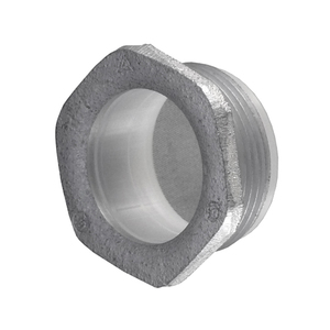 """Appleton CN-400I Chase Nipple, Size: 4"""", Insulated, Zinc Die Cast"""