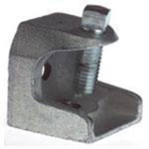 "Thomas & Betts 502 Beam Clamp, Rod Size: 3/8-16, Flange: 1"", Malleable Iron"