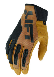 Lift Safety GGT-17BRBR1L GRUNT GLOVE (BROWN)- SYNTHETIC LEATHER WITH TPR GUARDS