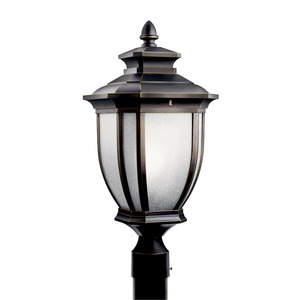 Kichler 11008RZ OUTDOOR POST 1 LT