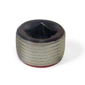 "Plasti-Bond PRPLG5 Recessed Plug, Size: 1-1/2"", Ferrous Metal/PVC Coated"