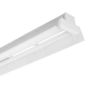 Lithonia Lighting AF232MVOLTGEB10IS Heavy Duty Striplight, 4', 2-Lamp, T8, 32W, 120-277V
