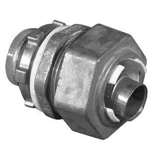 "Appleton LMM-91 Liquidtight Connector, Straight, 4"", Zinc Die Cast"
