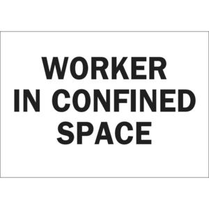22441 CONFINED SPACE SIGN