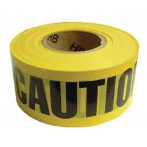 """Cully 94625 CUL 94625 YELLOW CAUTION TAPE 3"""" X"""