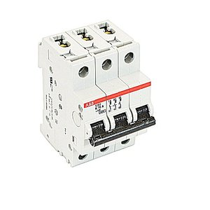 ABB S203-K16 Miniature Circuit Breaker, 3P, 16A