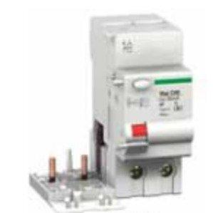 Square D M9V11263 Breaker, Miniature, 2P, 63A, GFPD, 240/415VAC, DIN Rail Mount