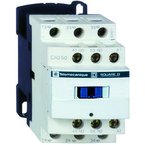 Square D CAD50T7 RELAY 600V 10AMP TESYS