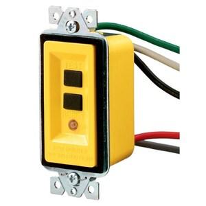 Hubbell-Wiring Kellems GFM20A GFCI MODULE, 20A 120V, YL, AUTOMATIC SET