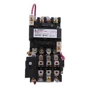 ABB CR306C002 Starter, Magnetic, NEMA Size 1, 3PH, 120VAC Coil, 600VAC, 27A, Open