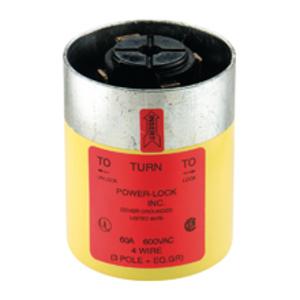 Eaton Arrow Hart 26426 Power Lock Industrial Grade Locking Plug, 60A, 600V, Non-NEMA