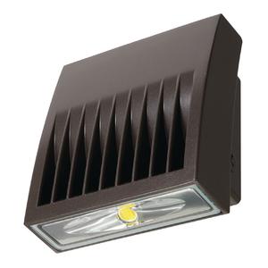 Lumark XTOR3B LED Wallpack, 26W, 5000K, 120-277V, Bronze