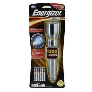 Energizer EPMZH61E LED Handheld Flashlight, AA Batteries, Tactical Grade, 1300 Lumens