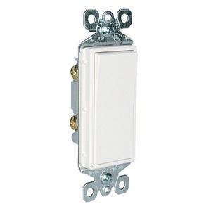 Pass & Seymour TM870-GRY Decora Switch, 1-Pole, 15A, 120/277VAC, Gray