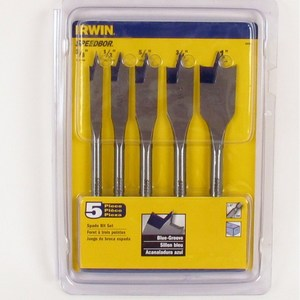Irwin 88885 5-Piece Speedbor Set