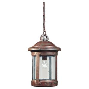 Sea Gull 6041-44 Outdoor Pendant One Light Weat