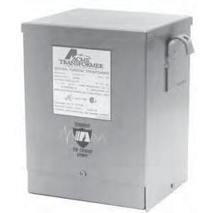 Acme T181220 Transformer, Control, 3KVA, 240 x 480 - 120VAC, 1PH, NEMA 3R