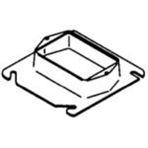 "Bowers 405-B 4"" Square Cover, 7/8"" Raised, 1-Device"