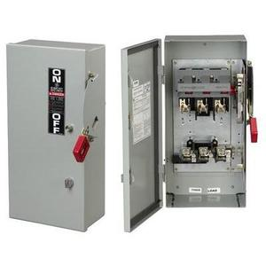 ABB TH2262MDC Disconnect Switch, HD, Fusible, 2P, 3 Wire, 60A, 600VAC, NEMA 12