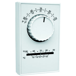 TPI ET5SS Thermostat, Heat, Amperage Rating- 22 Amp, Poles- 1