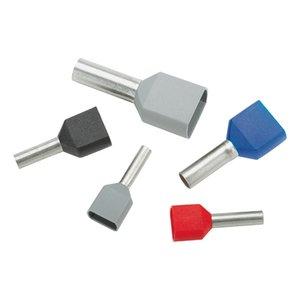Panduit FTD84-16-C Insulated Ferrule, twin wire, 6 AWG (16.