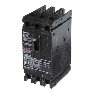 Siemens HED43B125 Breaker, Molded Case, 125A, 3P, 480VAC, Type HED, 42 kAIC