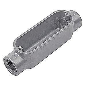 "Red Dot AC-4-RD 1-1/4"" Type C Conduit Body, Aluminum, Form 35, for Rigid/IMC"