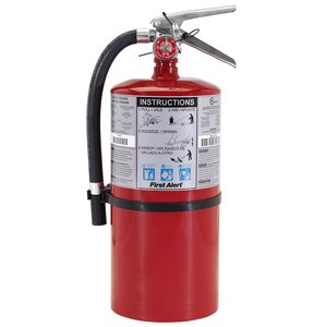 BRK-First Alert PRO10 Fire Extinguisher, 10 Lb Dry Powder, Heavy-Duty
