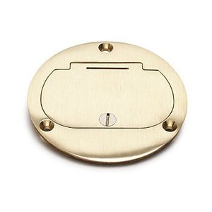 Lew DFB-1 Hinged Cover for Duplex, Brass