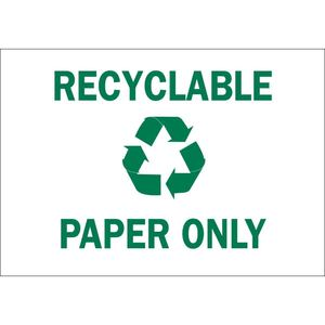 25930 RECYCLE & ENVIRONMENT SIGN