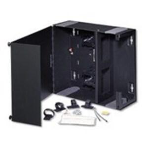 Leviton 5W370-N Medium Enclosure, Empty, Solid Metal Door, (1) Lock/Key *** Discontinued ***